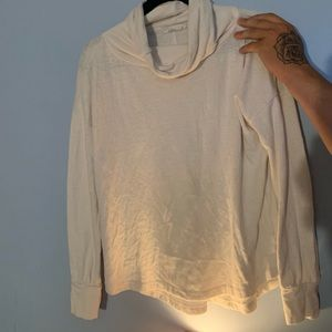 Prana cowl neck sweater organic cotton size small